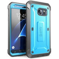 Samsung Galaxy S7 Case, Supcase, Unicorn Beetle Pro Series, Screen Protector, Galaxy S7 Case, S7 case- Blue/Black