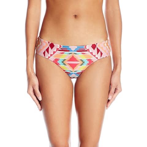 Billabong Pink Womens Size Medium M Cheeky Bikini Bottom Swimwear