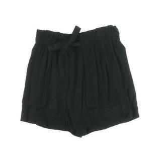 Sanctuary Womens Paperbag Waist Pleated Shorts - XL