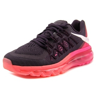 Nike Air Max 2015 Women Round Toe Synthetic Pink Running Shoe