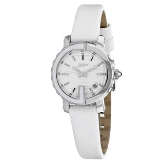 Link to Jean Paul Gaultier Women's 8500509 'Classic' White Leather Watch Similar Items in Women's Watches
