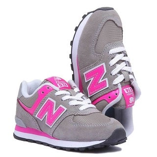 New Balance Baby Girl IV574GP Sneakers - 2.0 M US Toddler