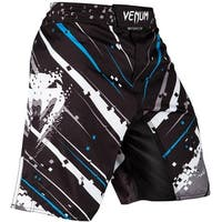 Venum Pixel Flex System Closure MMA Fight Shorts - Black/Gray