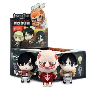 "Attack on Titan Blind Boxed 3"" Microplush Random Case of 12"