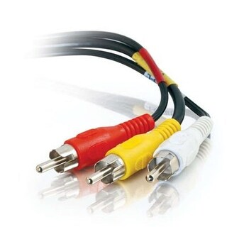 Cables To Go 50ft Value Series Composite Video + Stereo Audio Cable
