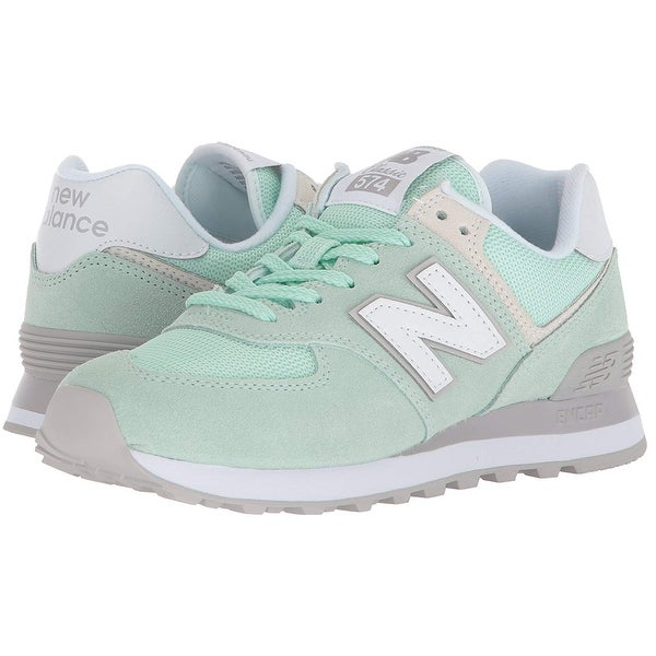 size 40 9c447 1a818 New Balance Womens 574 Low Top Lace Up Fashion Sneakers | Overstock.com  Shopping - The Best Deals on Athletic
