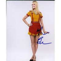 Signed Behrs Beth 8x10 Photo autographed