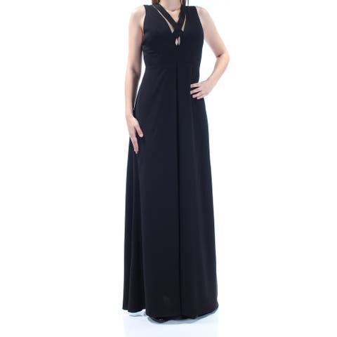 JILL STUART $328 Womens New 1491 Black Cut Out Sleeveless A-Line Dress 0 B+B