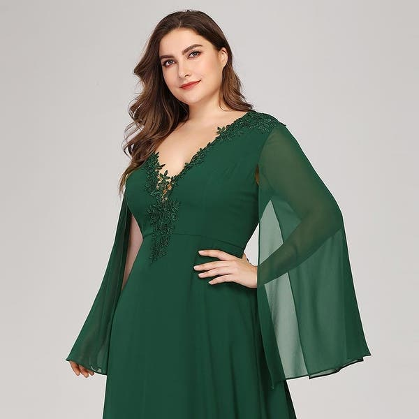 Shop Ever-Pretty Womens Plus Size Long Formal Evening Party ...