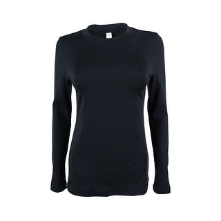 Ideology Women's Long Sleeve Stretch Active Top