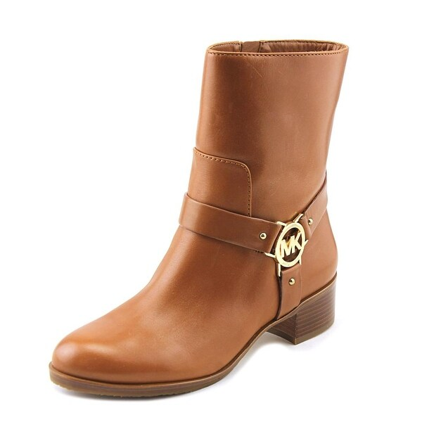 1f1d41268478 Michael Michael Kors Turner Women Round Toe Synthetic Brown Ankle Boot