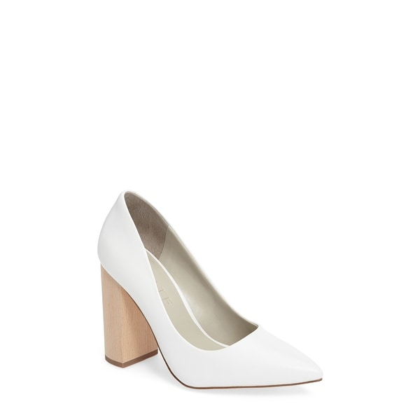 1. State Womens Valencia Leather Pointed Toe Classic Pumps
