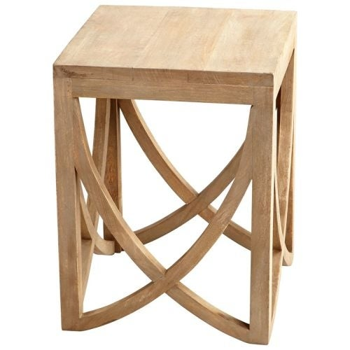 Cyan Design Lancet Arch Side Table Lancet 18 Inch Long Wood Side Table Made  In India   Free Shipping Today   Overstock.com   19772335