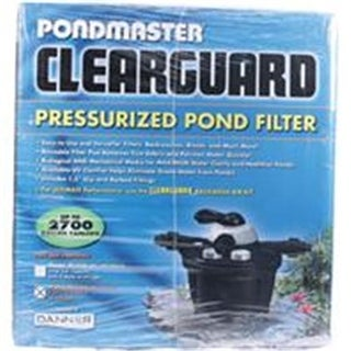 DANNER EUGENE POND P-5610 Pondmaster Clearguard Pressurized Filter