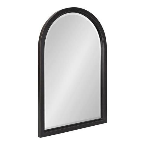 Kate and Laurel Hogan Wood Framed Arch Mirror