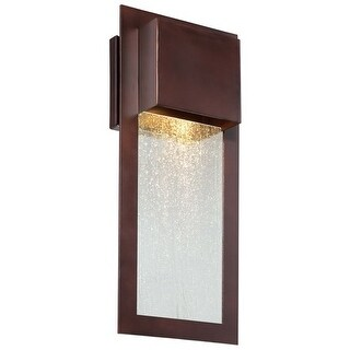 """The Great Outdoors 72382-246 1 Light 15.75"""" Height Dark Sky Compliant Outdoor Wall Sconce from the Westgate Collection"""