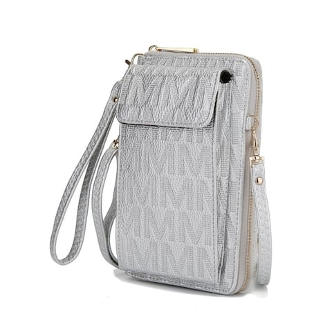Mkf Collection Caddy Phone Wallet Crossbody Bag by Mia K