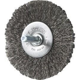 """Weiler 3"""" Fine Wire Wheel"""