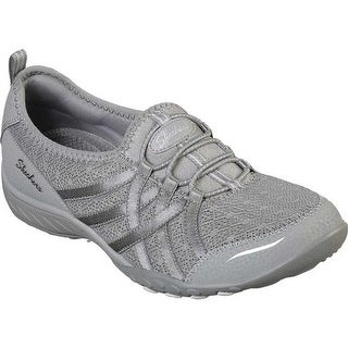 Shop Women's Skechers Relaxed Fit Savvy Winsome Wedge Gray