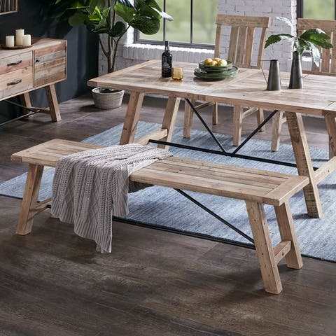 Sonoma Dining Bench by INK+IVY
