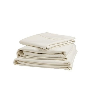 Denver 343515 RV Short Queen Size Microfiber Sheet Set Ivory