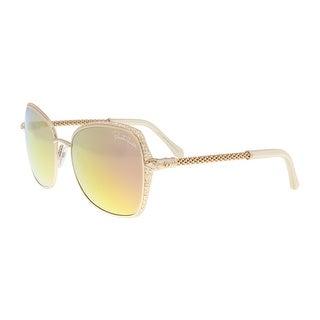 Roberto Cavalli RC977S 28L TABIT Gold Round Sunglasses - 58-19-135
