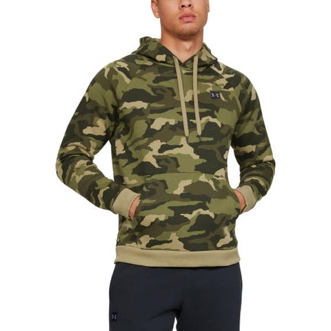 Under Armour Mens Hoodie Fitness Running - Green - L