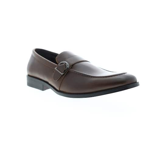Unlisted by Kenneth Cole Half Time Show Brown Mens Loafers & Slip Ons Dress