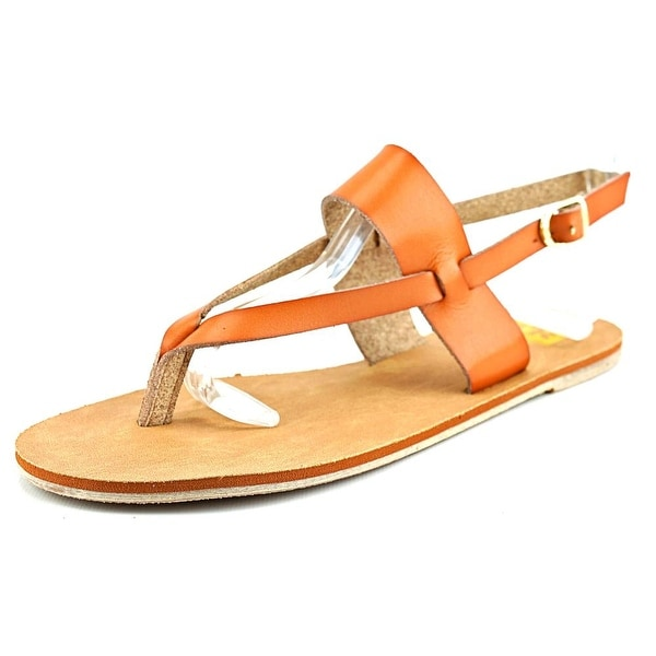 Cape Robbin Alma-FB-10 Women  Open Toe Synthetic  Thong Sandal