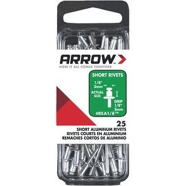 Arrow 1/8X1/8 Alum Rivet