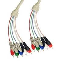 CableWholesale  RCA Component Video With Audio Cable  3 RCA Male