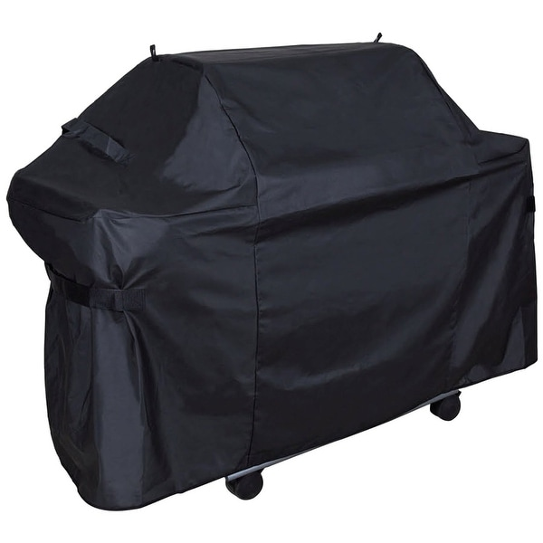 Grill Care 17553 Universal Grill Cover, Polyester, Black, 61""
