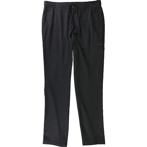 Tasso Elba Mens Drawstrings Casual Trouser Pants