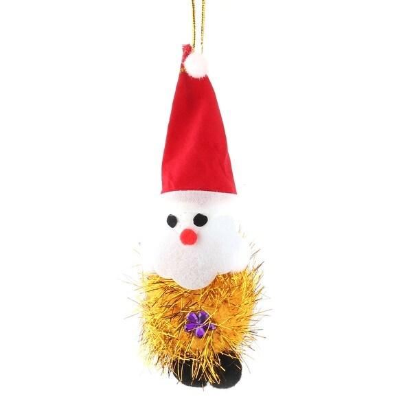 Festival Sponge Xmas Santa Claus Pendant Christmas Tree Ornament Decoration