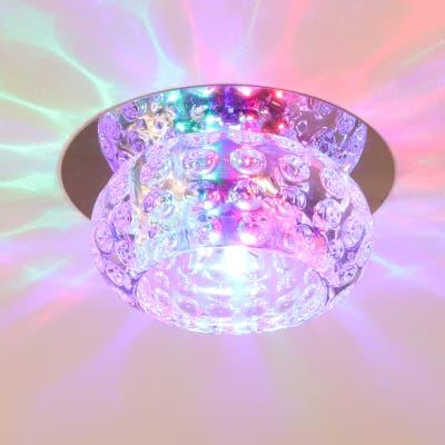 3W/5W Flush Mount Chandelier Crystal Ceiling Lights
