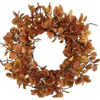"""Link to Glitzhome 24""""D Eucalyptus Fall Wreath Similar Items in Decorative Accessories"""