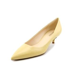 Nine West Illumie Women Pointed Toe Leather Yellow Heels
