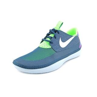 Nike Berwuda Men Round Toe Synthetic Blue Sneakers
