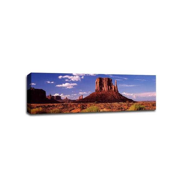 The Mittens Monument Valley National Park - National Parks - 48x16 Canvas