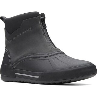 Clarks Men's Bowman Top Duck Boot Black Leather