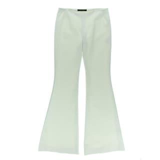 Wes Gordon Womens Silk Blend Solid Dress Pants