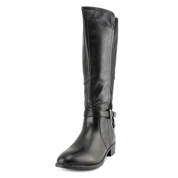 Rampage Ilite Women Round Toe Synthetic Black Knee High Boot