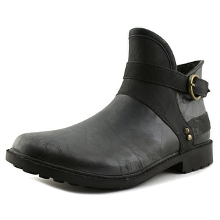 Chooka Derby Women Black Snow Boots