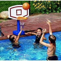 Shop Swimline Pool Jam Volleyball Basketball Combo In Ground Pool Toy Free Shipping Today