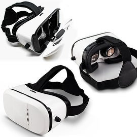 """Indigi® VR6 3D VR Virtual Reality Glasses for Android or iOS phones 4.5"""" to 6.0"""" Compatible"""