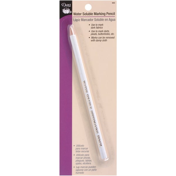Water-Soluble Marking Pencil-White