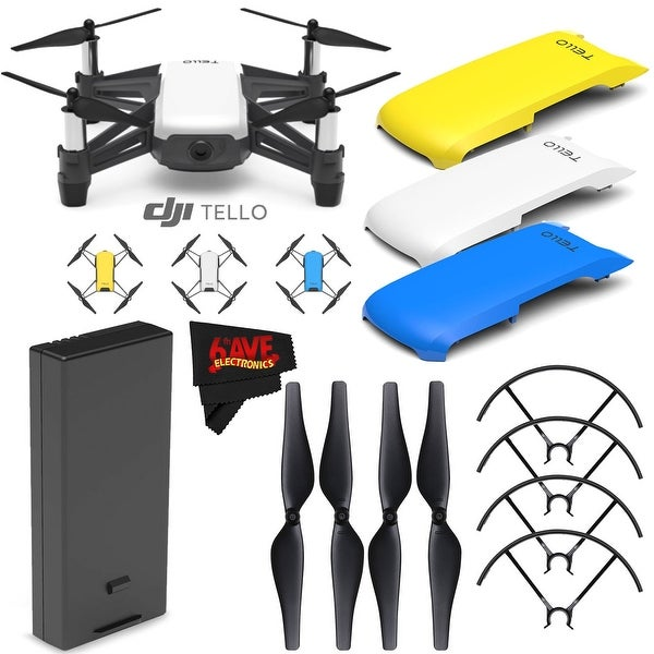 Microfiber Cloth Bundle: Shop Ryze Tech Tello Quadcopter #CP.PT.00000252.01 + Ryze