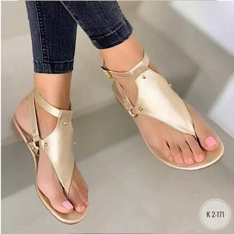 Large Size Flip Flops Casual Flat Sandals