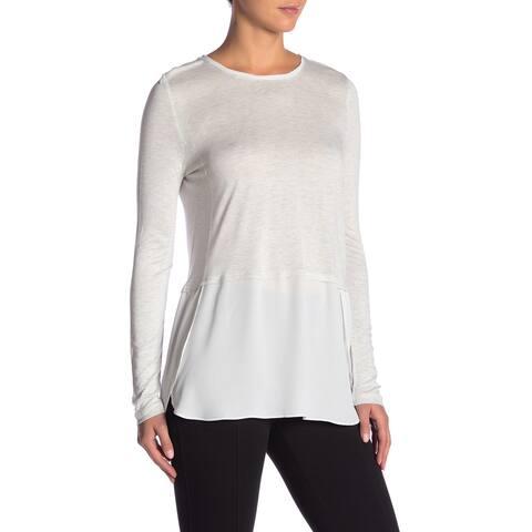 Joe Fresh Women's Small Hi-Lo Layered Look Blouse $23