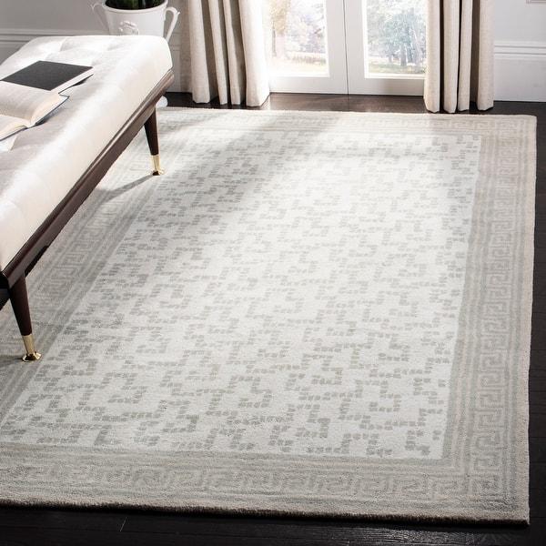 Martha Stewart By Safavieh Handmade Byzantium Wool Rug Overstock 7877660